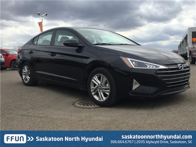 2019 Hyundai Elantra Preferred KMHD84LF6KU736224 B7315 in Saskatoon