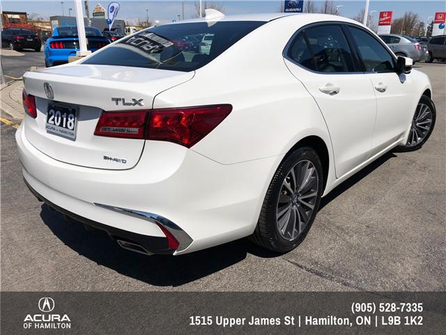2018 Acura TLX Tech (Stk: 1813830) in Hamilton - Image 5 of 16