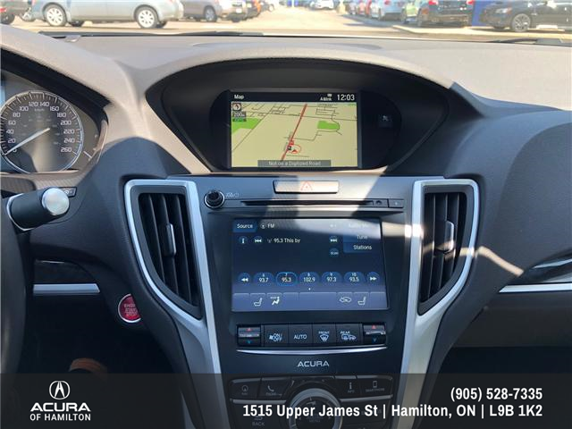 2018 Acura TLX Tech (Stk: 1813830) in Hamilton - Image 12 of 16
