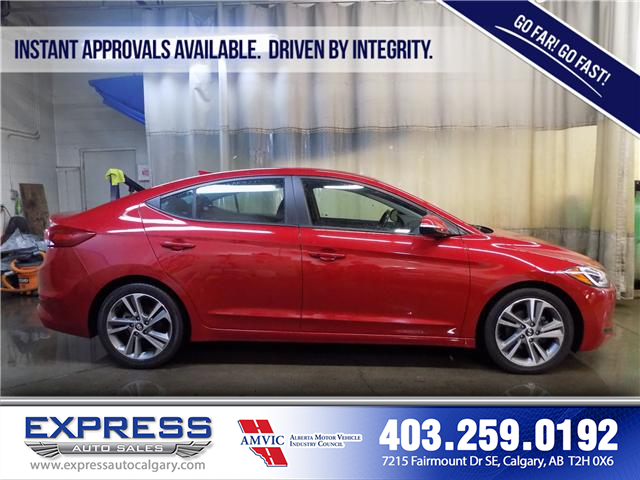 2017 Hyundai Elantra GLS (Stk: P15-1084A) in Calgary - Image 7 of 16
