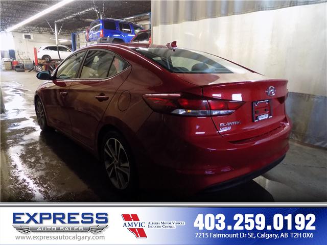 2017 Hyundai Elantra GLS (Stk: P15-1084A) in Calgary - Image 4 of 16