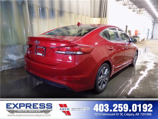 2017 Hyundai Elantra GLS (Stk: P15-1084A) in Calgary - Image 6 of 16