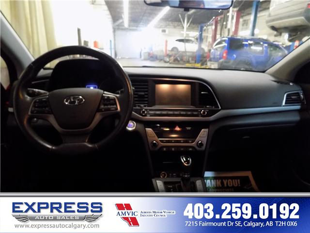 2017 Hyundai Elantra GLS (Stk: P15-1084A) in Calgary - Image 12 of 16