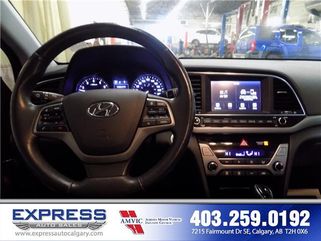 2017 Hyundai Elantra GLS (Stk: P15-1084A) in Calgary - Image 13 of 16
