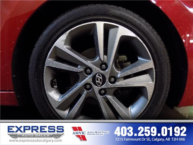 2017 Hyundai Elantra GLS (Stk: P15-1084A) in Calgary - Image 8 of 16