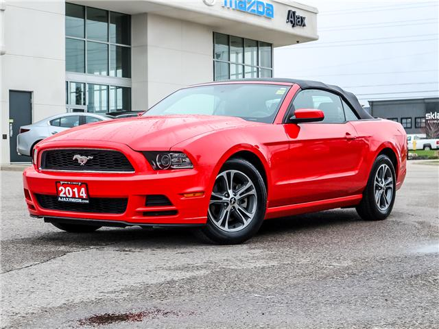 2014 Ford Mustang V6 Premium (Stk: 19-1382A) in Ajax - Image 1 of 26