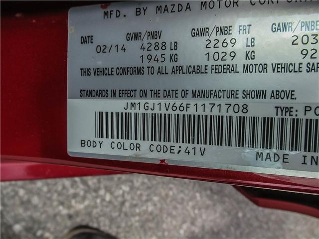 2015 Mazda MAZDA6 GS (Stk: P5100) in Ajax - Image 21 of 22