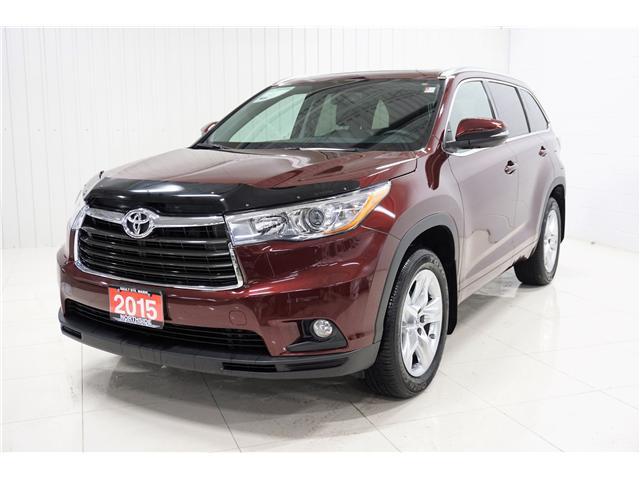2015 Toyota Highlander Limited (Stk: H19029A) in Sault Ste. Marie - Image 1 of 26
