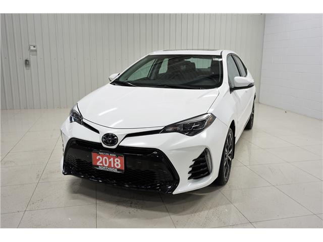 2018 Toyota Corolla SE (Stk: A19049A) in Sault Ste. Marie - Image 1 of 22