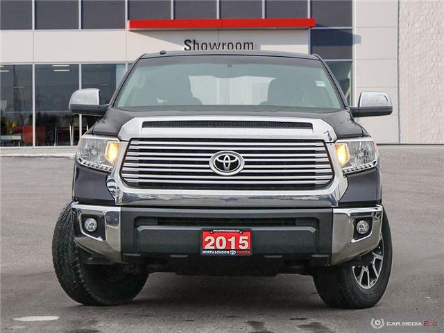 2015 Toyota Tundra Limited 5.7L V8 (Stk: A219585) in London - Image 2 of 27