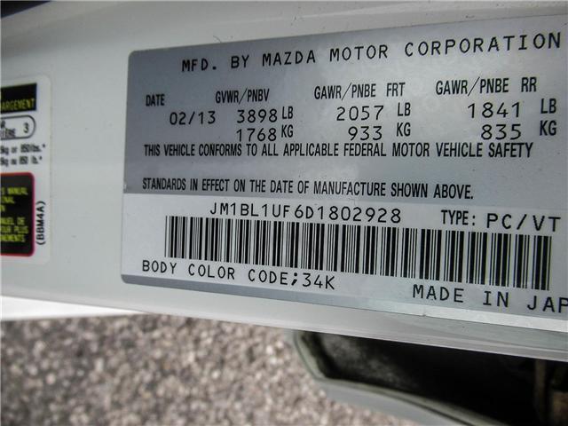 2013 Mazda Mazda3 GX (Stk: P5052A) in Ajax - Image 18 of 19