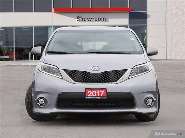 2017 Toyota Sienna SE 8 Passenger (Stk: A219403) in London - Image 2 of 26