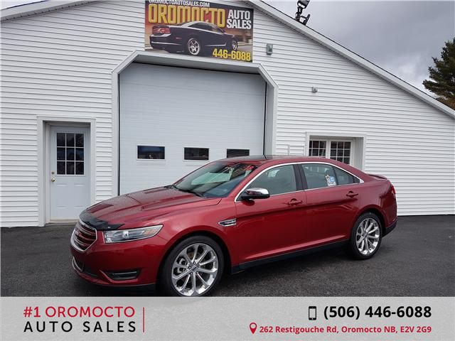 2018 Ford Taurus Limited (Stk: 645) in Oromocto - Image 1 of 20