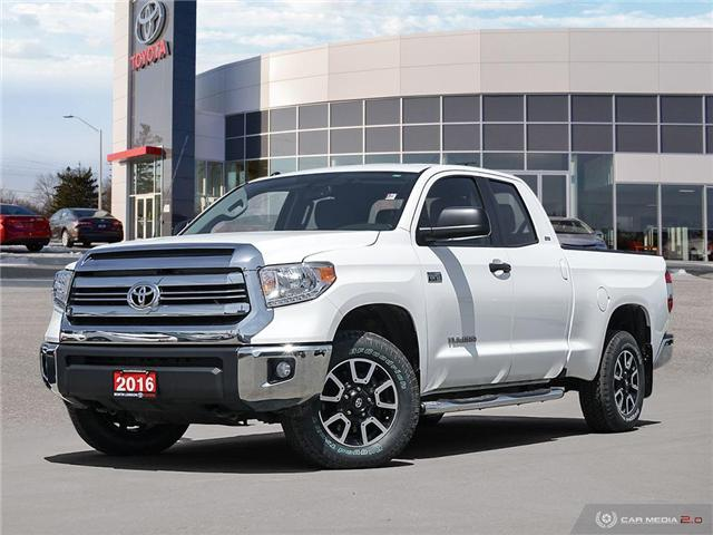 2016 Toyota Tundra SR 5.7L V8 (Stk: A219598) in London - Image 1 of 27