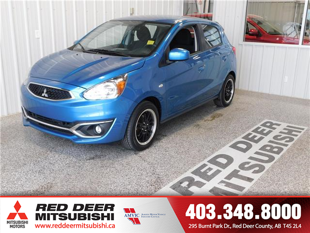 2018 Mitsubishi Mirage ES (Stk: P8128) in Red Deer County - Image 1 of 14