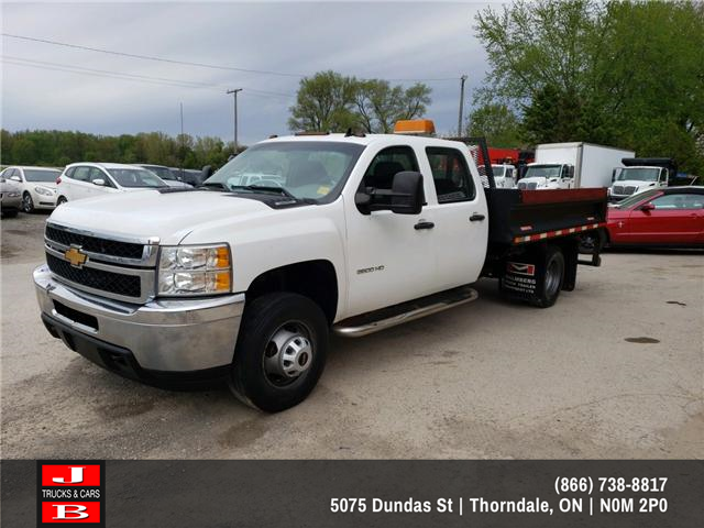 2012 Chevrolet Silverado 3500HD Chassis WT (Stk: 5635) in Thordale - Image 1 of 11
