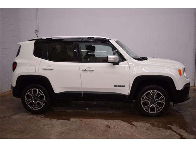 2016 Jeep Renegade LIMITED 4X4 - BACKUP CAM * HEATED SEATS * LEATHER (Stk: B3852) in Kingston - Image 1 of 30