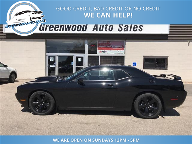 Blacked Out Challenger >> 2013 Dodge Challenger R T 6 Speed Hemi With Low Km S Leather