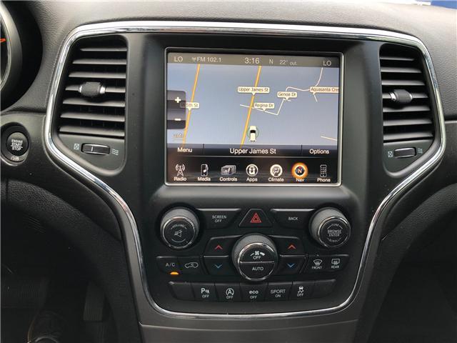 2017 Jeep Grand Cherokee Laredo (Stk: 1701321) in Hamilton - Image 6 of 21