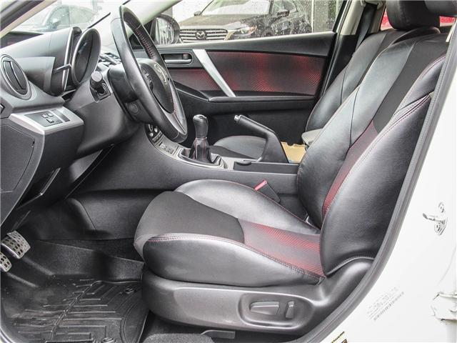2012 Mazda MazdaSpeed3 Base (Stk: T1168A) in Ajax - Image 11 of 23