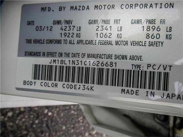 2012 Mazda MazdaSpeed3 Base (Stk: T1168A) in Ajax - Image 22 of 23