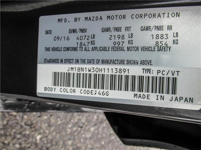 2017 Mazda Mazda3 GT (Stk: P5148) in Ajax - Image 22 of 23
