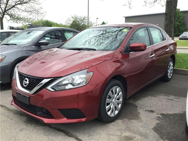 2019 Nissan Sentra 1.8 SV (Stk: A7820) in Hamilton - Image 1 of 4