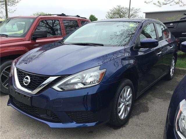 2019 Nissan Sentra 1.8 SV (Stk: A8032) in Hamilton - Image 1 of 4
