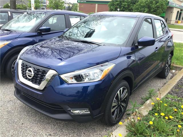 2019 Nissan Kicks SV (Stk: A8054) in Hamilton - Image 1 of 3