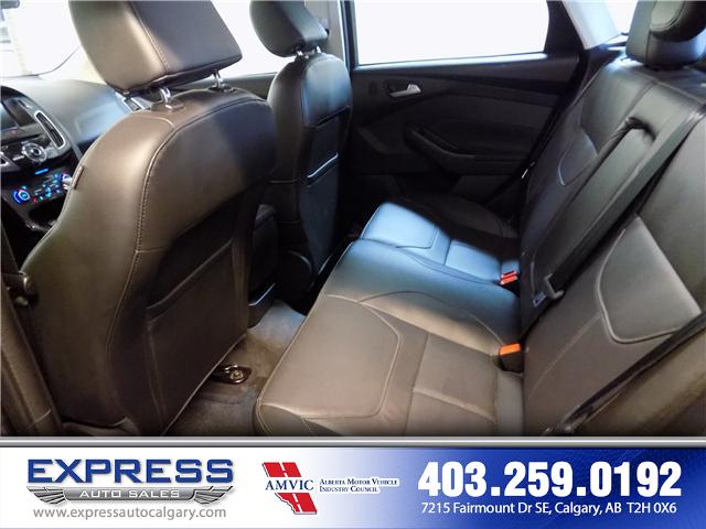 2018 Ford Focus Titanium (Stk: P15-1115) in Calgary - Image 11 of 20