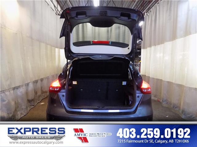 2018 Ford Focus Titanium (Stk: P15-1115) in Calgary - Image 10 of 20