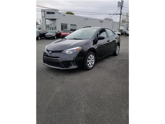 2015 Toyota Corolla S Premium CVT (Stk: p19-134) in Dartmouth - Image 1 of 8