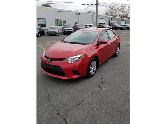 2014 Toyota Corolla S Plus CVT (Stk: p19-135) in Dartmouth - Image 1 of 9