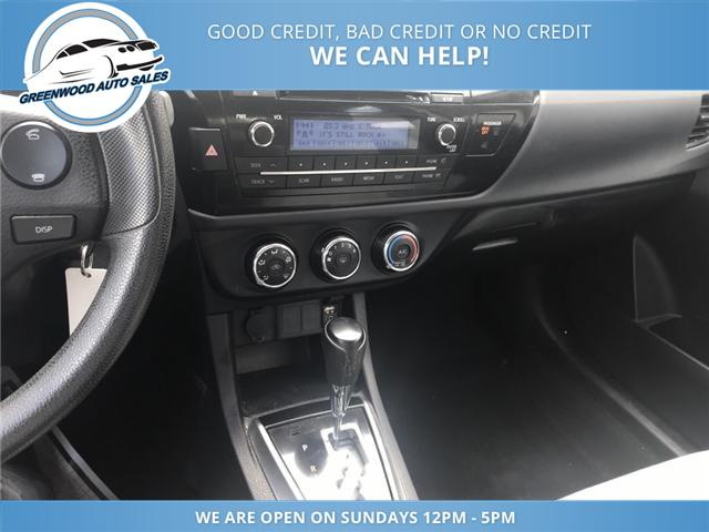 2016 Toyota Corolla S (Stk: 16-60539) in Greenwood - Image 10 of 14