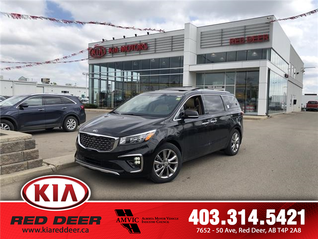 2019 Kia Sedona SXL+ (Stk: 9SD1285) in Red Deer - Image 1 of 27