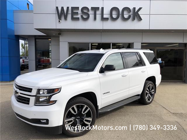 2019 Chevrolet Tahoe Premier (Stk: 19T95) in Westlock - Image 1 of 9