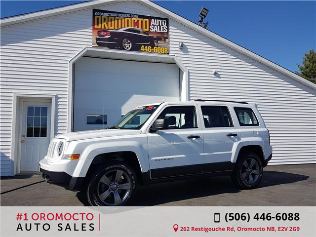 2016 Jeep Patriot Sport/North (Stk: 485) in Oromocto - Image 1 of 15