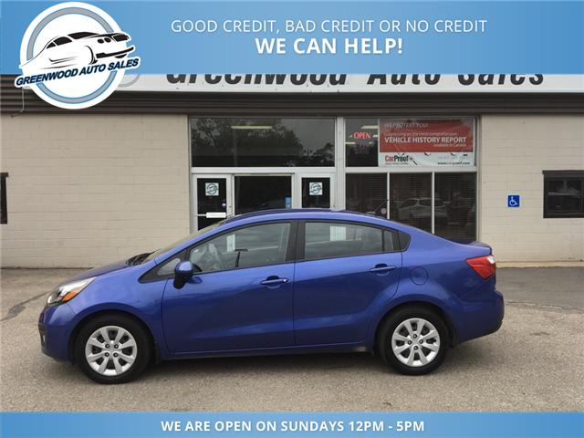 2013 Kia Rio LX+ (Stk: 13-21817) in Greenwood - Image 1 of 21
