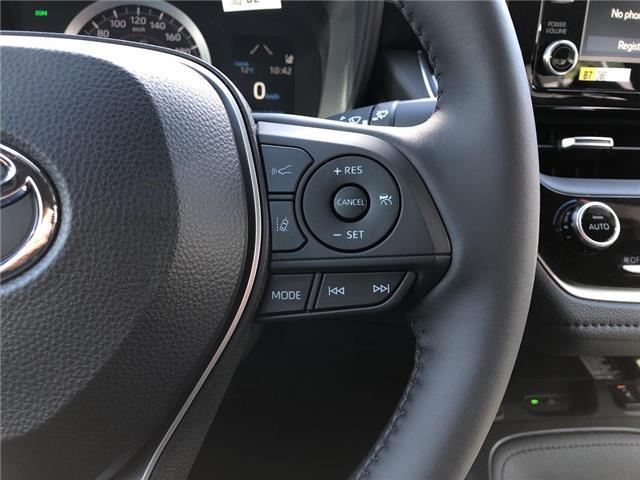 2020 Toyota Corolla SE (Stk: 30965) in Aurora - Image 11 of 16