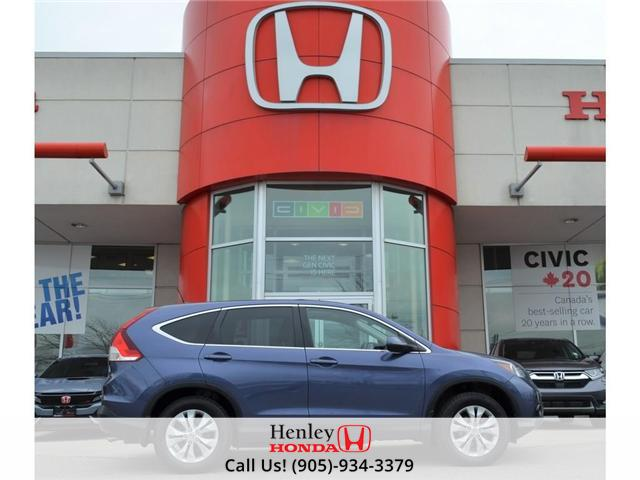 2014 Honda CR-V EX-L LEATHER HEATED SEATS BACK UP CAMERA (Stk: R9426) in St. Catharines - Image 1 of 27