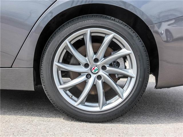 2017 Alfa Romeo Giulia Base (Stk: 67ARSERVICE) in Oakville - Image 26 of 30