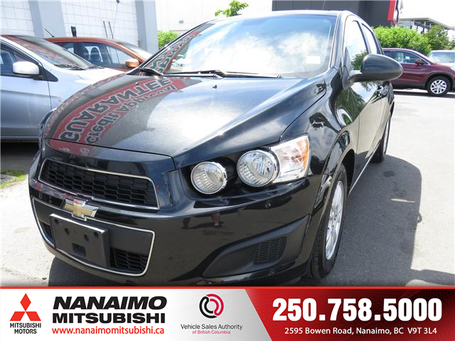 2013 Chevrolet Sonic LT Auto (Stk: 8P7593B) in Nanaimo - Image 1 of 9