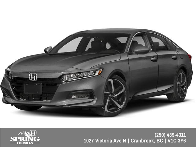 2019 Honda Accord Sport 2.0T (Stk: H00488) in North Cranbrook - Image 1 of 7