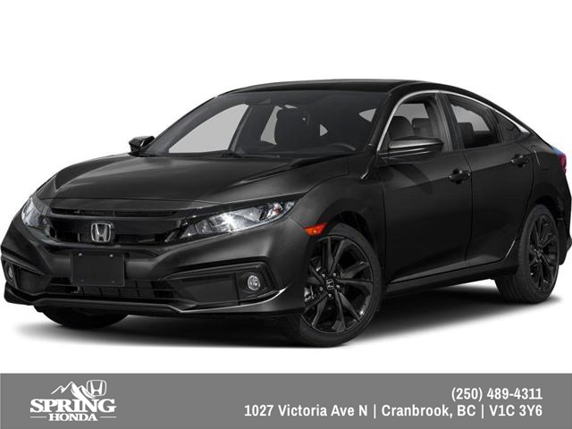 2019 Honda Civic Sport (Stk: H16165) in North Cranbrook - Image 1 of 6