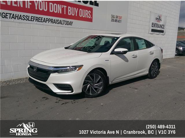 2019 Honda Insight Touring (Stk: H00627) in North Cranbrook - Image 1 of 6