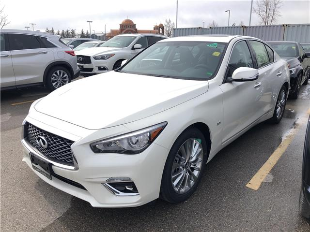 2019 Infiniti Q50 3.0t LUXE (Stk: G19019) in London - Image 1 of 5