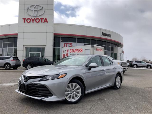 2019 Toyota Camry LE (Stk: 30691) in Aurora - Image 1 of 16