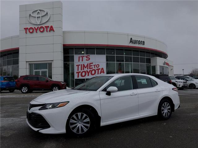 2019 Toyota Camry LE (Stk: 30695) in Aurora - Image 1 of 16
