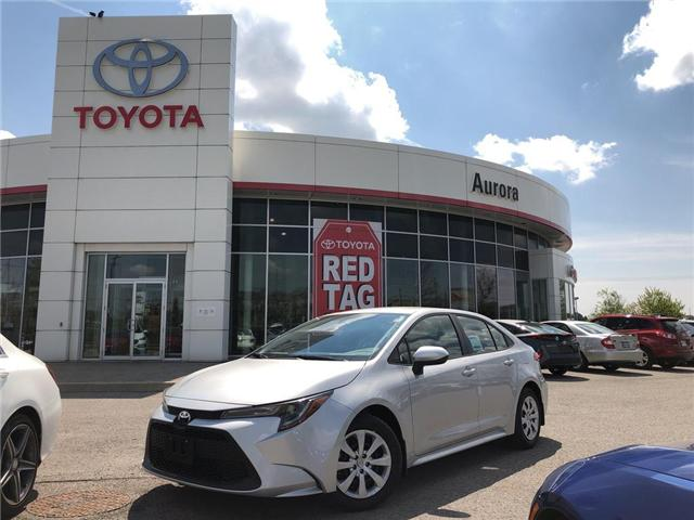 2020 Toyota Corolla LE (Stk: 30942) in Aurora - Image 1 of 15