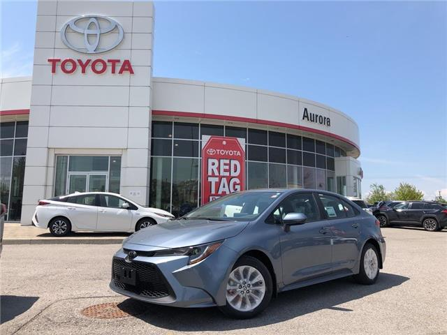 2020 Toyota Corolla LE (Stk: 30922) in Aurora - Image 1 of 15